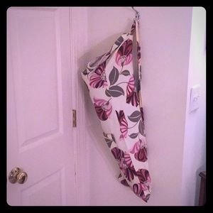 Floral Yoga Mat Bag